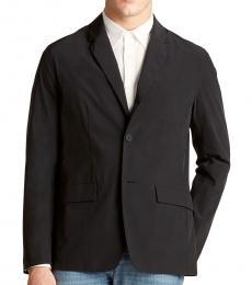 Black Euclid Paper Nylon Jacket