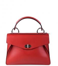 Proenza Schouler Red Hava Medium Satchel