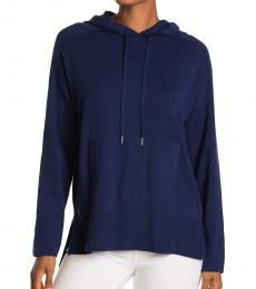 Tommy Bahama Navy Blue Tami Pullover Hoodie