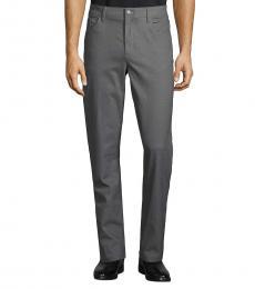 Calvin Klein Dark Grey Slim-Fit Blend Pants