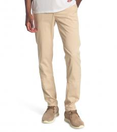 AG Adriano Goldschmied Beige Marshall Chino Pants