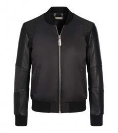 Philipp Plein Black Back Logo Jacket
