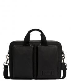 Coach Black Rider Large Briefcase Bag