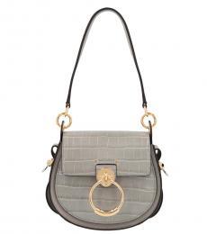 Chloe Grey Tess Small Shoulder Bag