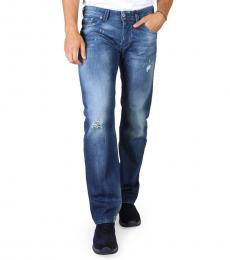 Diesel Blue Regular Fit Jeans