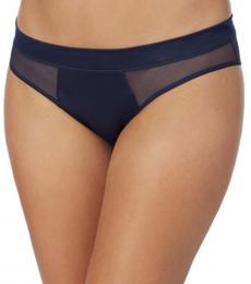 DKNY Blue Satin Bikini Underwear