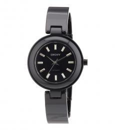 DKNY Black Classic Ceramic Watch