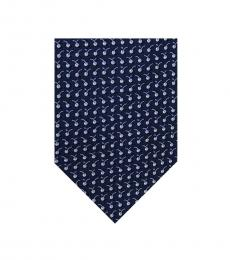 Salvatore Ferragamo Blue Cherrys Tie