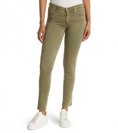AG Adriano Goldschmied Olive Prima Ankle Skinny Jeans