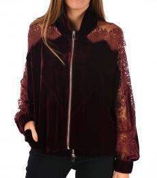 Cherry Lace Sweatshirt