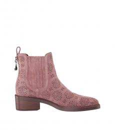 Coach Dusty Rose Bowery Chelsea Boots