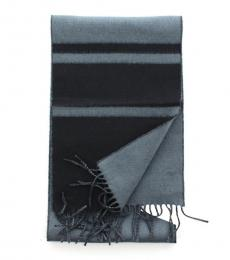 Coach Grey Reversible Scarf
