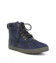 Ralph Lauren Midnight Regnald Duck Toe Boots