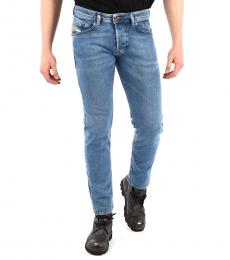 Diesel Blue Belther Tapered Fit Jeans