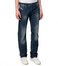 Diesel Navy Blue Regular Fit Larkee Jeans