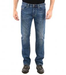 Blue Regular Fit Larkee Jeans