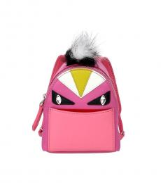 Fendi Pink Monster Eye Key Holder
