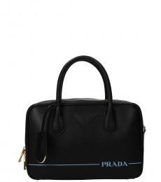 Prada Black Classic Small Messenger Bag