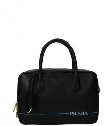 Prada Black Classic Small Messenger Bag
