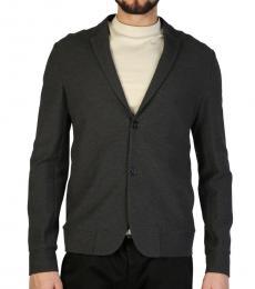 Emporio Armani Dark Grey Formal Blazer