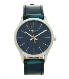 Coach Black-Blue Camouflage Watch