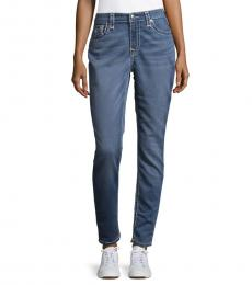 True Religion Blue Curvy Skinny Jeans