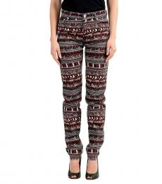 Versus Versace Multi color Straight Leg Jeans