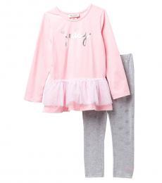 Juicy Couture 2 Piece Tunic/Leggings Set (Baby Girls)