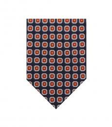 Ralph Lauren Navy Classic Silk Tie