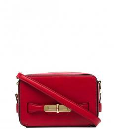 Alexander McQueen Red The Myth Small Crossbody