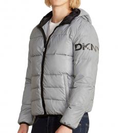 Reflective Resistant Puffer Jacket