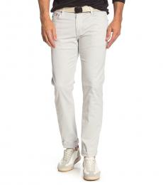 AG Adriano Goldschmied Pale Cinder Matchbox Slim Fit Pants