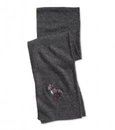 Grey French Bulldog Scarf
