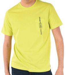 Diesel Yellow Pocket Printed T-Shirt