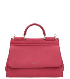 Pink Sicily Small Satchel