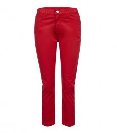 Armani Jeans Red Slim Fit Classic Jeans