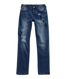 True Religion Boys Inkwell Wash Geno Slim Fit Jeans