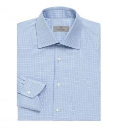 Light Blue Long-Sleeve Dress Shirt