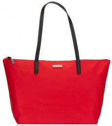 Kate Spade Red Chilli Lida May Street Large Tote