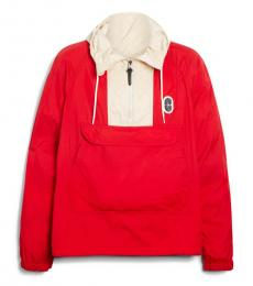 Cherry Colorblock Logo Jacket