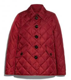 Maroon Hacking Jacket