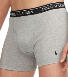 Ralph Lauren Black Grey 2-Pack Boxer Briefs