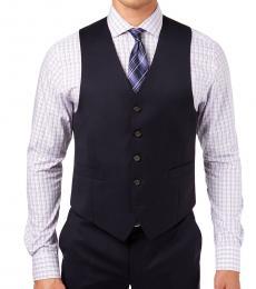 Ralph Lauren Navy Blue Classic-Fit Vest