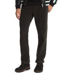 Black Graduate Tailored Leg Jeans