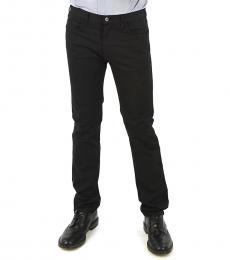 Armani Jeans Black Denim Slim Fit Jeans