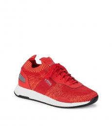 Hugo Boss Red Titanium Running Sneakers