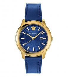 Versace Blue V-Urban Watch