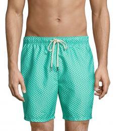 Tommy Bahama Aqua Naples Solid Swim Trunks