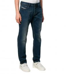Diesel Dark Blue Tapered Fit Larkee-Beex Jeans