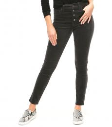 Coacl Grey Button Fly Corduroy Jeans